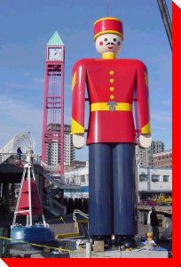 World's Largest Tin Soldier - New Westminster, British Columbia