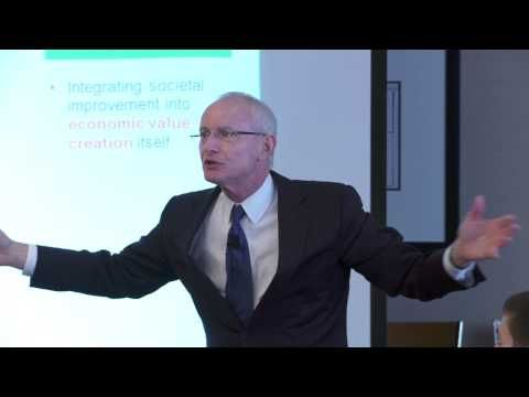 michael porter on rethinking capitalism 2014-11-19  rethinking the space of ethics in social entrepreneurship:  an interview with michael porter: social entrepreneurship and the transformation of capitalism.
