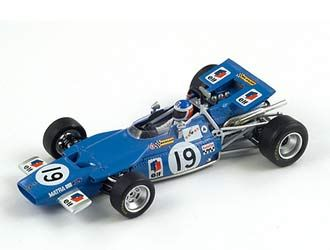Matra MS84 (Johnny Servoz-Gavin - Canadian GP 1969) in Blue (1:43 scale by Spark S1609)
