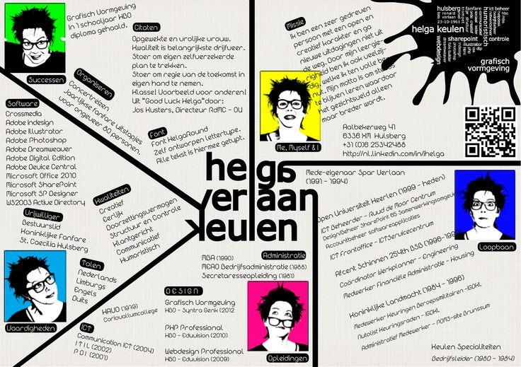 Nog een voorbeeld van een opvallend #creatief #cv.  http://www.vivier.nl/solliciteren.html