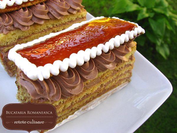 Prajitura Dobos: Dobo Cakes, Romanian Cakes, Prajitura Dobo
