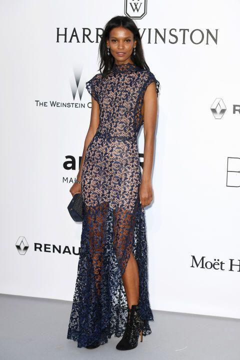 Liya Kebede - Cannes Festival Fashion
