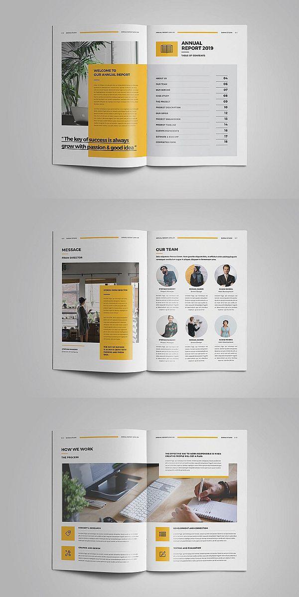 Annual Report Report Design Graphic Design Brochure Annual