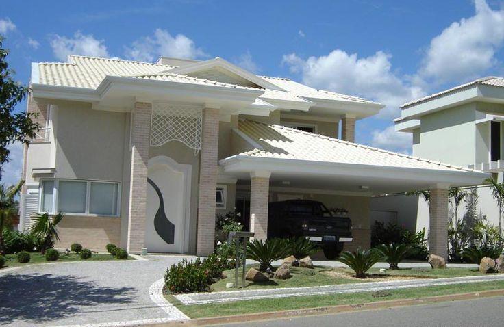 40 Fachadas de casas modernas e esculturais maravilhosas!
