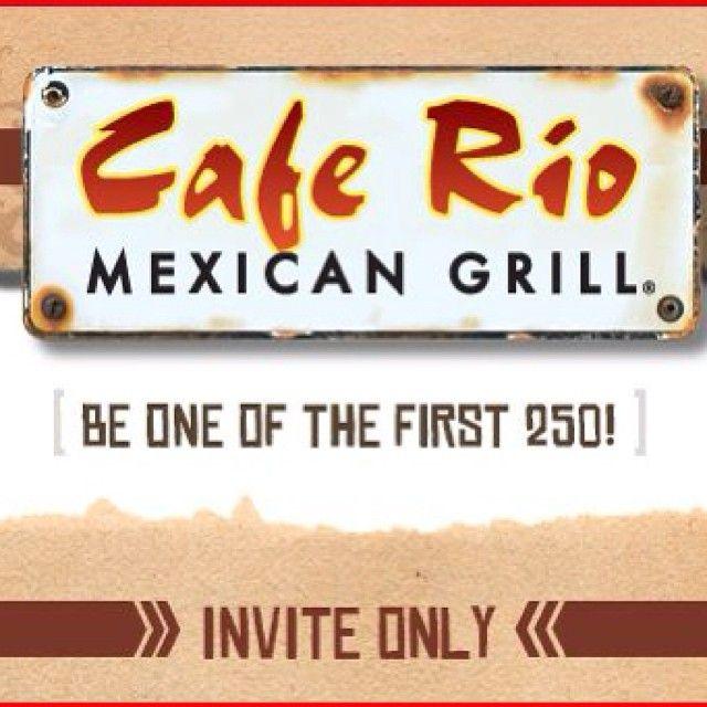 Cafe Rio Avondale Menu
