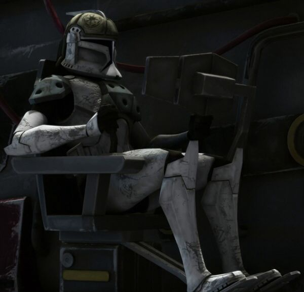 Clone tank gunners were specialized clone troopers who served in the Grand Army of the Republic during the Clone Wars as gunners on several of the Galactic Republic's vehicles, warships, and heavy artillery cannons.