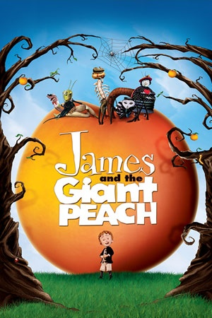 Kids movie collection: James and the Giant Peach And we would have to watch the movie of course