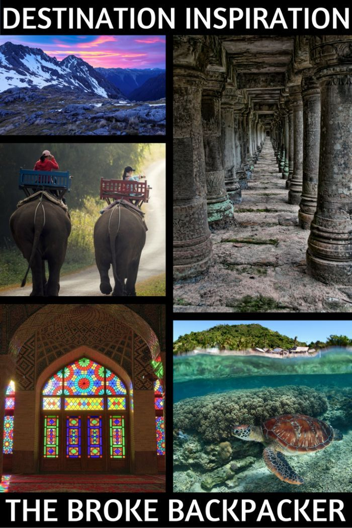 Want to travel the world but unsure where to go? The ultimate list of backpacking destinations is here to help - travel to far flung lands!
