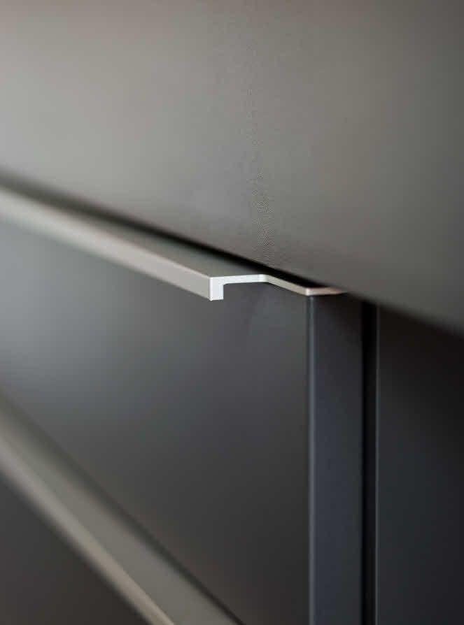 sleek kitchen cupboard handles - Google Search