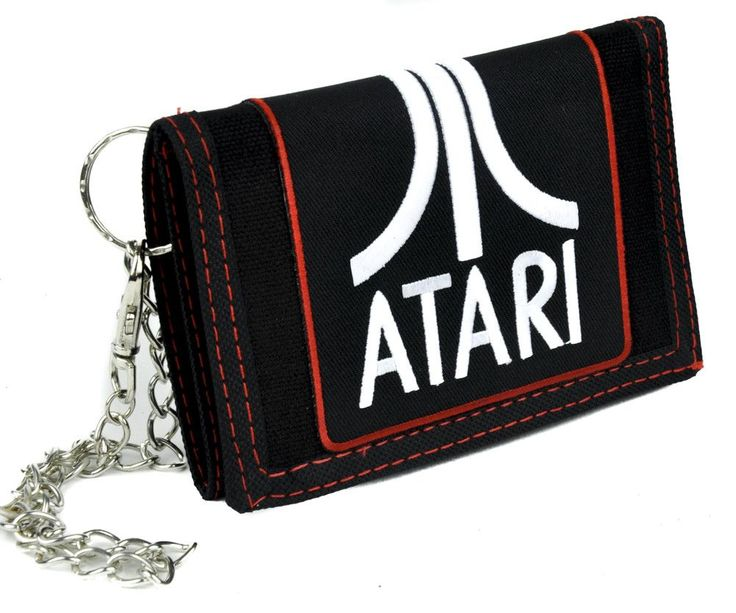 Atari Games Tri-fold Wallet with Chain Alternative Clothing
