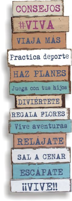 VIVIR LA VIDA!!! #Spanish quotes #frases #citas #Quotes in Spanish