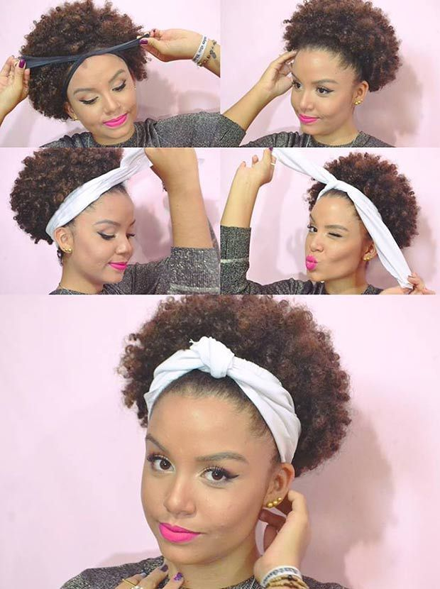 Black Head Wraps For Natural Hair