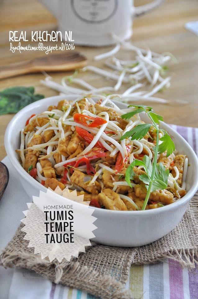 Homemade TUMIS TEMPE TAUGE source Lynda Maitimu Timman   Inimakanan sederhana tapi paling enak sedunia...  Dunianya REAL Kitchen NL loh...