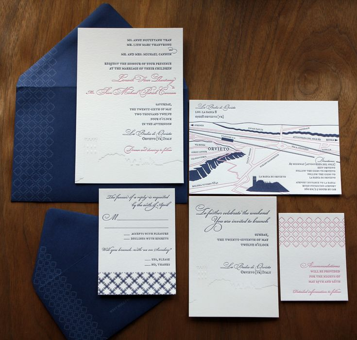 paper monkey press italian wedding invitation set letterpress weddinginvitation