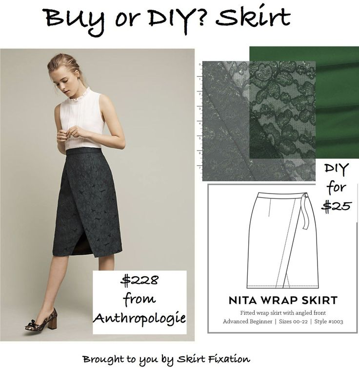 Want to look stylish for the holidays and $$$ave big?  Our Anthropologie skirt copycat DIY will fit the ticket.  Check out all our Buy or DIY Skirt posts.