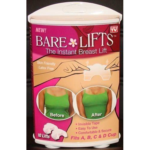 "As Seen on TV ""Bare Lifts"" Instant Adhesive Breast Lift Solution"