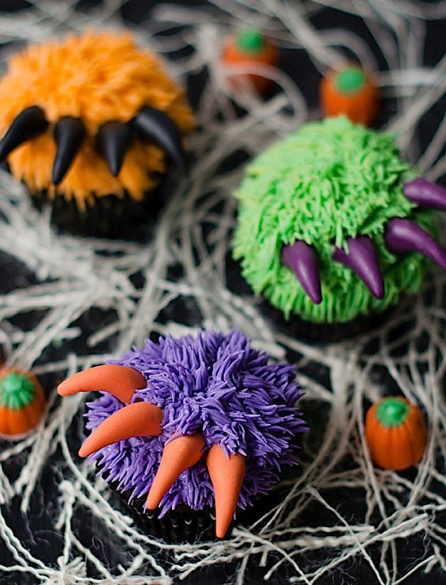 Verrückte Cupcake-Deko zu Halloween