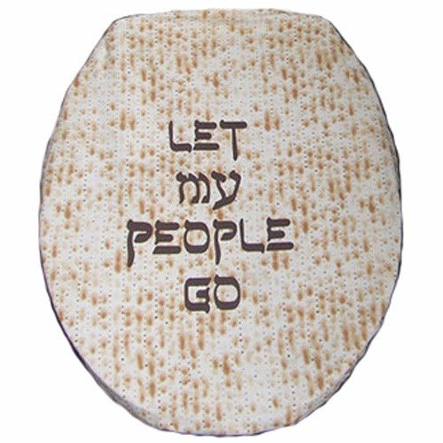 Let My People Go Toilet Seat Cover | As Seen on The Jay Leno Show