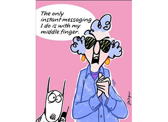 Instant Message Cartoon : Best maxine images on pinterest aunty acid comic
