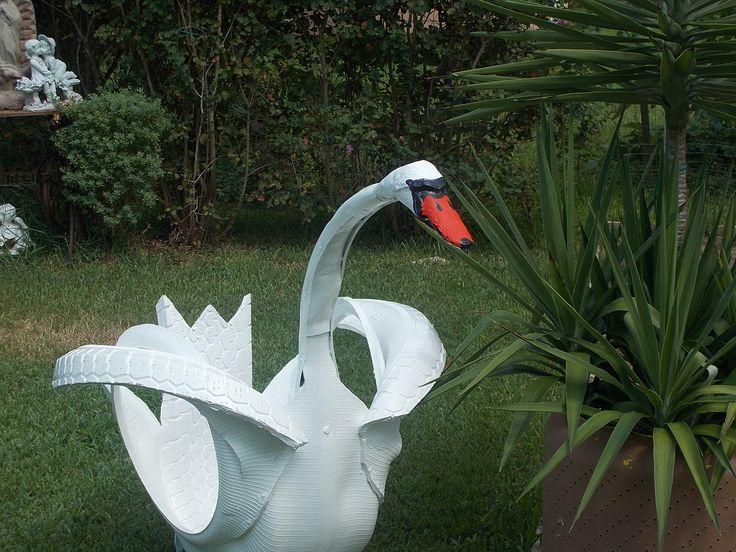 art tire swan green paws stuff Pinterest Art, 150