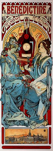 Mucha Benedectine by mpt.1607, via Flickr