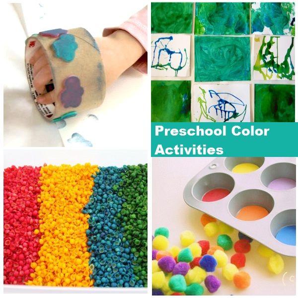 Preschool Color Activities