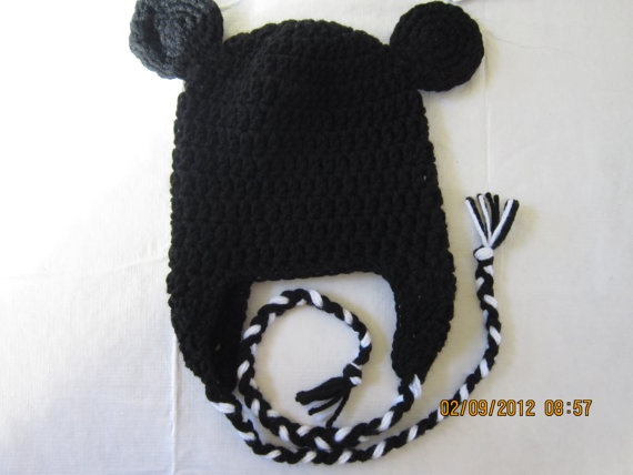 mickey hat!: Crafts Ideas, Pinky Stitches, Baby Crochet, Mickey Hats