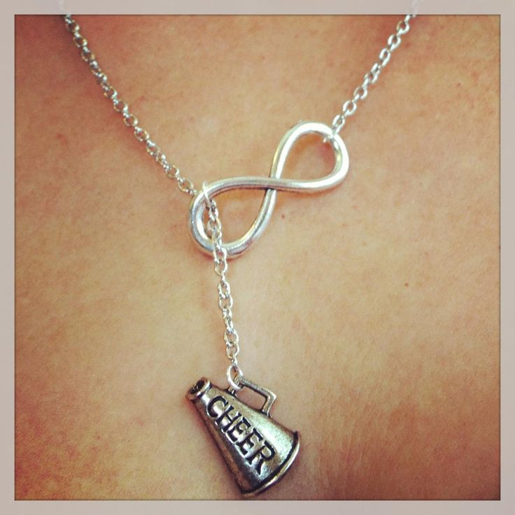 Cheerleading Forever Drop Necklace