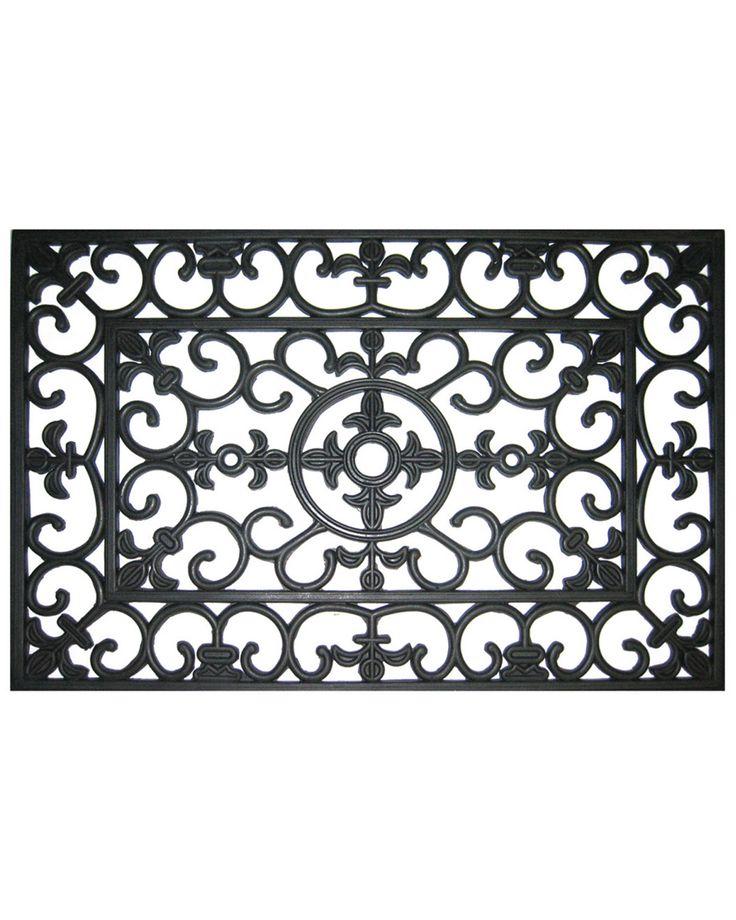 Spotted this Victorian Doormat on Rue La La. Shop (quickly!).