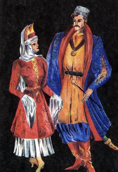 Донской казачий костюм фото