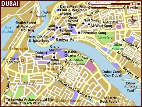 image result for dubai map