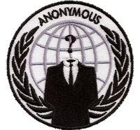 Anonymous PC Hacker Maske Cracker Coder Nerd Aufnäher Abzeichen Patch