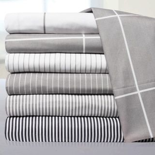 Shop for Loft Collection Pinstripe, Classic Stripe and Windowpane Modern Sheet Sets. Free Shipping on orders over $45 at Overstock.com - Your Online Sheets