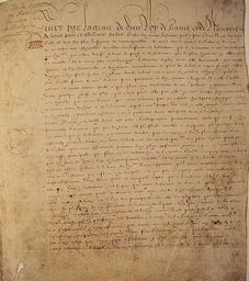 1598  Edict of Nantes  French Protestants (Huguenots) are granted toleration by…