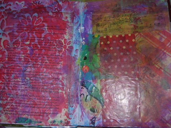 Journal Collage Kit 1 for Art Journaling Lovers by a by eltsamp, $70.00
