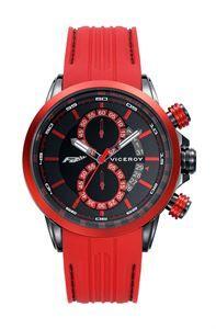 Reloj Viceroy Fernando Alonso, inspiración Formula 1, exclusividad, deportivo y como mucho carácter, detalles personalizados en su esfera. www.relojes-especiales.net #fernandoalonso #viceroy #fórmula1