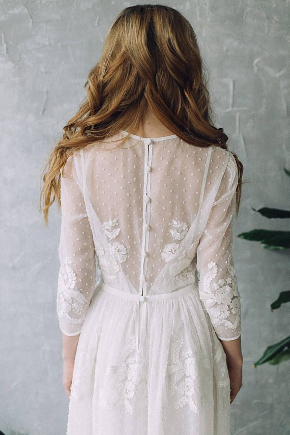 Robe SS17 Robe de mariée robe de mariée bohème romantique