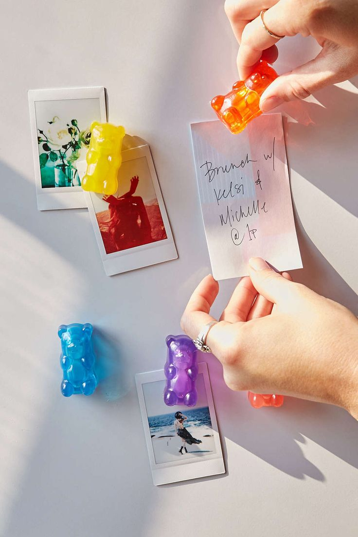 Haribo gummy bears are just one of many products that thomas - Gummy Bear Magnet Set