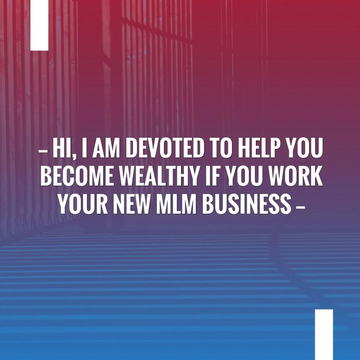 New on my blog! Hi, I Am Devoted To Help You Become Wealthy If You Work Your New MLM Business https://onelife4u2.com/hi-i-am-devoted-to-help-you-become-wealthy-if-you-work-your-new-mlm-business/?utm_campaign=crowdfire&utm_content=crowdfire&utm_medium=social&utm_source=pinterest