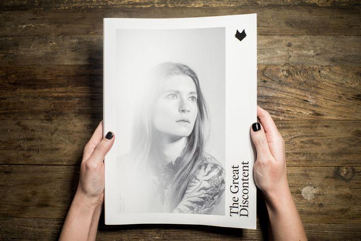 The Great Discontent Magazine | Abduzeedo Design Inspiration.