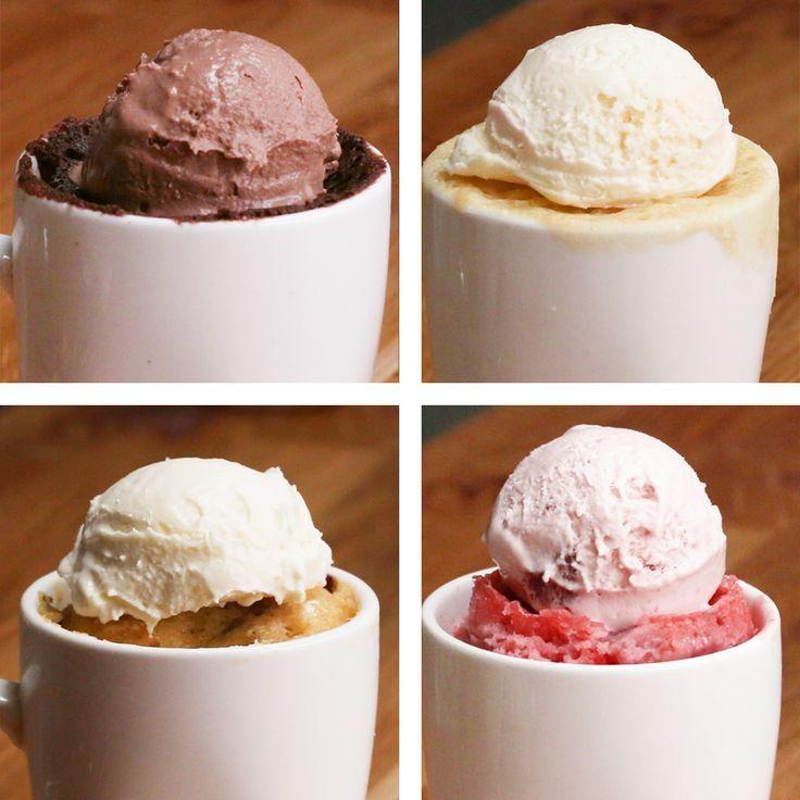 Bien Tasty, Le Chef, Nutella, Muffins, Ice Cream, Cupcakes, Breakfast, Desserts, Recipes