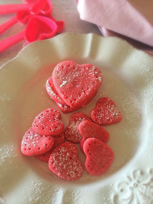 Galletas de Corazón para Regalar! Son deliciosas y especial para el día del amor.