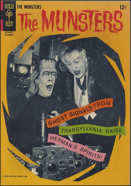 The Munsters comic book...