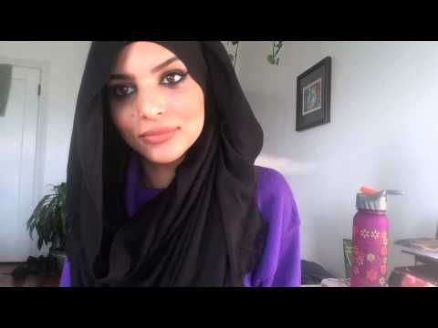 Easy Everyday 2 Hijab Styles - ShamshomBrunette - YouTube