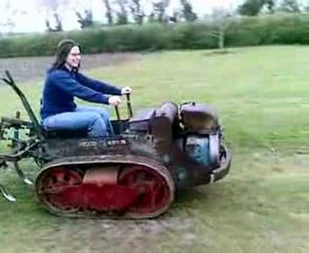 Ransomes MG5 Crawler Tractor - YouTube