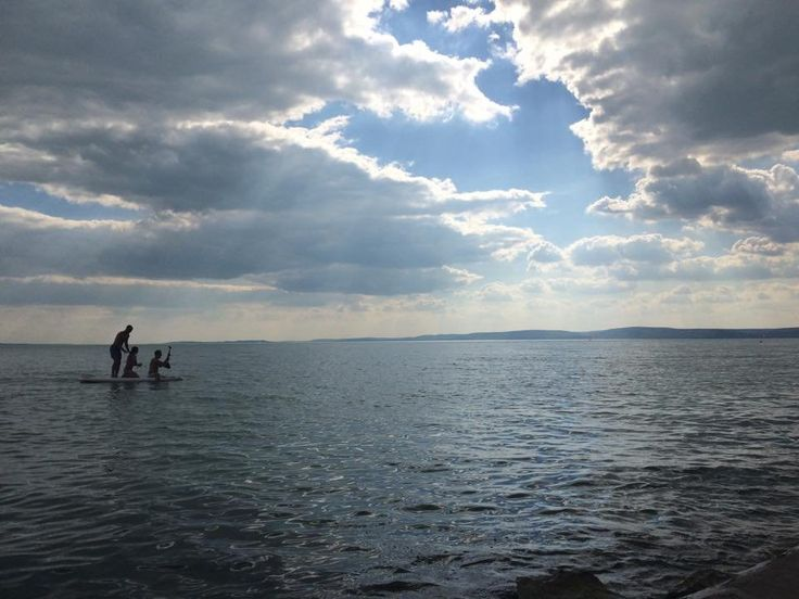 #SUP #yoga at #Everness #Festival