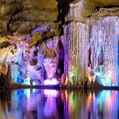 Reed Flute Cave, China - 50 Of The Most Beautiful Places in the World (Part 5)