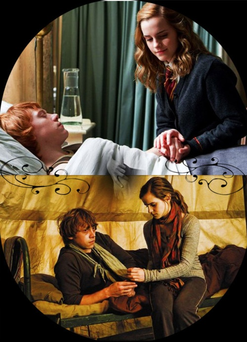 OTP: Ron Weasley & Hermione Granger   My input- Is it even an OTP anymore IF THEY GOT MARRIED AND HAD FRICKEN KIDS?!?!!?!?!?