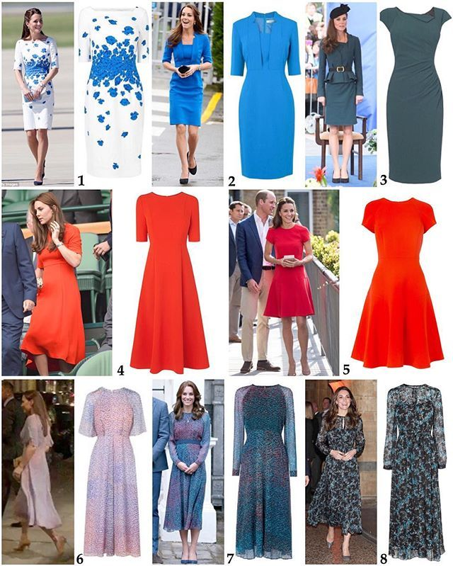 Duchess Kate's LK Bennett Dress Collection: Note that with Black Friday, LK Bennett is having 20% off with the code Black20 (UK & International site) and the US/Canada site is discounting orders over $250 by 30% with the code Save30! 1: 'Lasa' poppy print dress in Snorkel blue - £245/$300US. While this particular dress is sold out, the very similar 'Lasana' dress is available in pink for $425US on the US store and the almost identical 'Lara' version in 'Cornflower' should be back in stock…