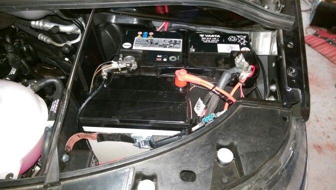 triple under bonnet battery set for t5 vw camper van. Black Bedroom Furniture Sets. Home Design Ideas